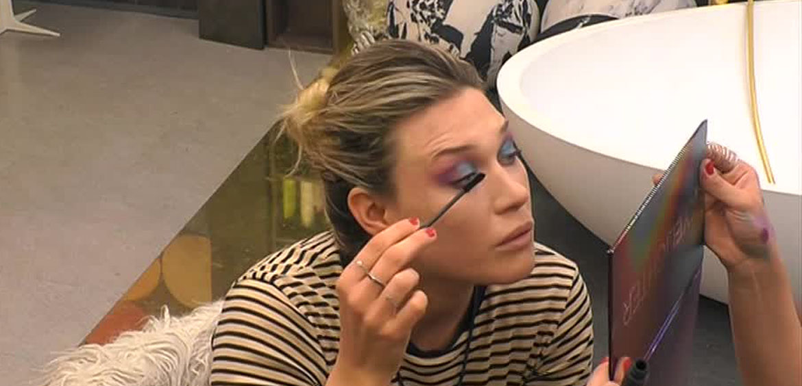 Un perfetto make up disco style