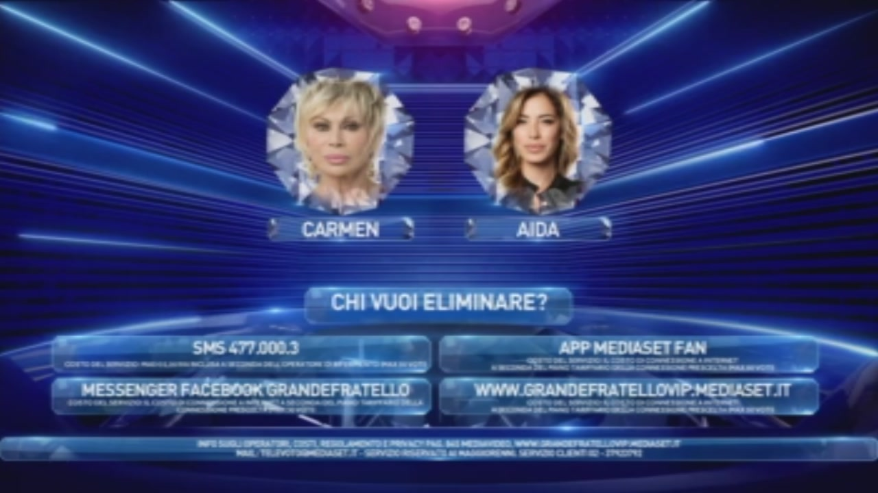 Carmen e Aida in Nomination